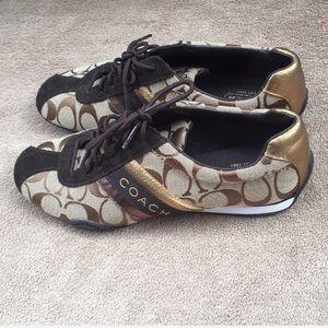 Brown Coach Sneakers